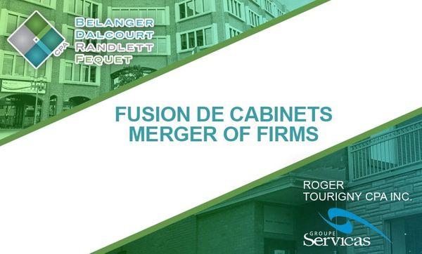 Merger of firms